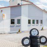 Firmengelände der Firma Dürr Unfallinstandsetzung Autolackiererei